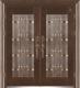 精雕铸铝门-GLL-ZL-1609
