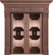 纯铜雕刻木纹-GLL-T-1616