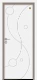 格洛里木门系列 -GLL-S-1653B 纯白