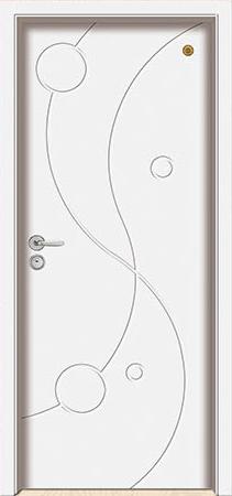 格洛里木门系列-GLL-S-1653B 纯白