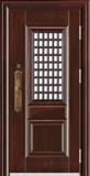精品防盗门系列-HT-105 鸿阳 9CM甲级门中门