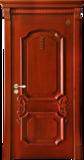 格洛里木门系列 -GLL-S-1617HH 红胡桃2