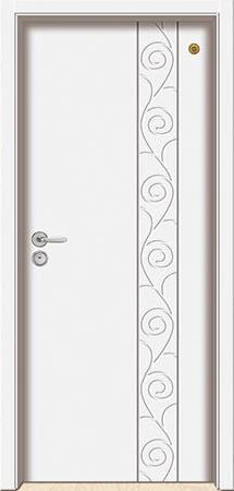 格洛里木门系列-GLL-S-1656B 纯白