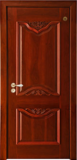 格洛里木门系列 -GLL-S-1620AH 红胡桃1