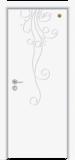 格洛里木门系列 -GLL-S-1657B 纯白