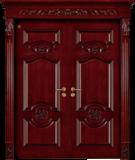 格洛里木门系列 -GLL-S-1605AH 红胡桃2