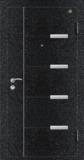佳构防盗门系列 -GLL-GM-05 玄色龟裂纹