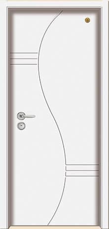 格洛里木门系列-GLL-S-1651B 纯白