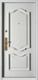 精品防盗门系列-GLL-S-1602H 纯白