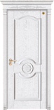 格洛里木门系列 -GLL-S-1626AH 橡木仿古白1
