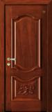 格洛里木门系列 -GLL-S-1602HH 红胡桃2