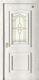 格洛里木门系列-GLL-S-1628A玻璃 橡木仿古白