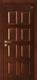 格洛里木门系列-GLL-S-1625QMA 黑胡桃1