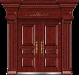 非标别墅大门 -GLL-F-1823