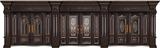 非标别墅大门-GLL-F-1801精雕木纹