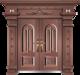非标别墅大门-GLL-F-1826