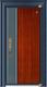 德式装甲门-GLL-GM-1802 直纹花纹/蓝灰