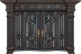 非标别墅大门 -GLL-F-1813