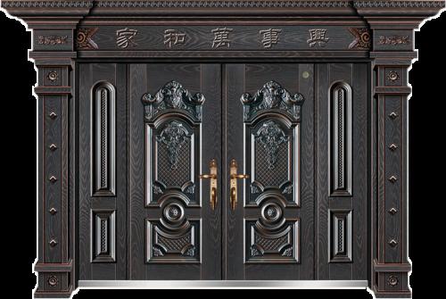 非标别墅大门-GLL-F-1813