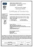 英标木质防火门证书