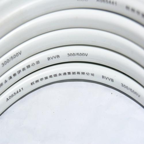 護套線 硬護套 裝潢明線-BVVB 2×4護套線