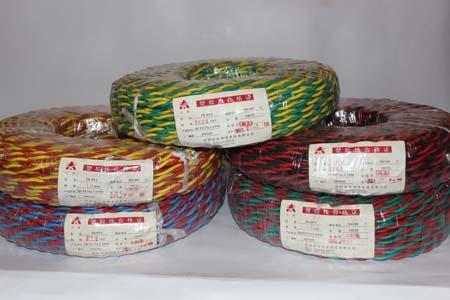 阻燃电线 防火电线 高温电线-ZRRVS2×2.5平方阻燃双绞线
