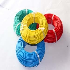 阻燃電線 防火電線 高溫阻燃電線電纜6平方單芯線-ZRBV6阻燃單芯線