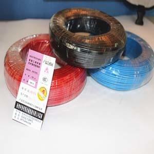 阻燃电线 防火电线 高温阻燃电线电缆1.5平方单芯线-ZRBV1.5阻燃单芯线