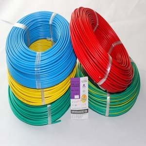 阻燃电线 防火电线 高温阻燃电线电缆4平方单芯线-ZRBV4阻燃单芯线
