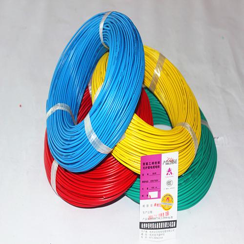 多芯线 多股软线 热水器立式空调-BVR4平方电线
