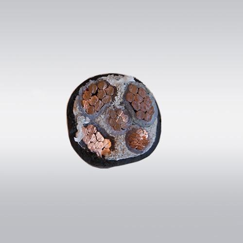 电力电缆 铜芯电缆 YJV电缆-YJV 3*50+2*25 五芯电缆