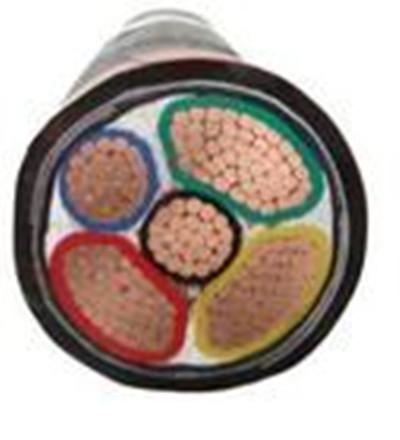 铠装电缆  国标电缆 yjv22电缆 -VV22 3+2五芯铠装电缆