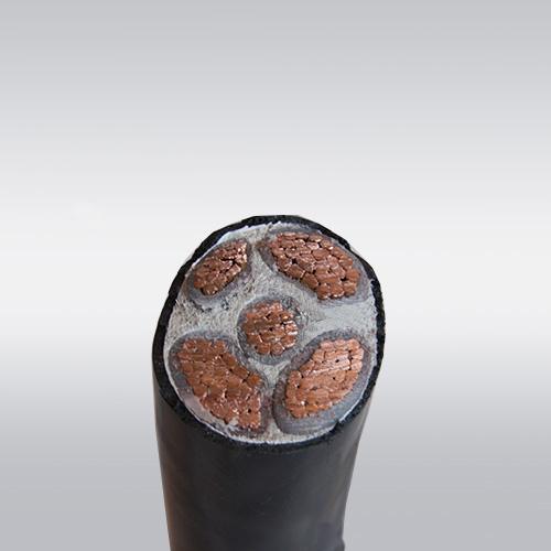 电力电缆 铜芯电缆 YJV电缆-YJV 3*150+2*70 5芯电缆
