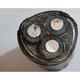 高压电缆 高压铝芯 YJLV22电缆线 -YJLV22  3*150