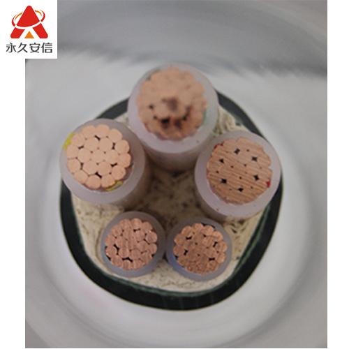 铜电缆 五芯阻燃交联电缆ZR-YJV3x120+2x70平方 -ZR-YJV3x120+2x70平方