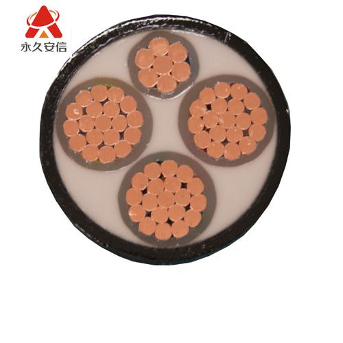 铜电缆 四芯交联电缆YJV 3*95+1*50平方-4芯铜电缆YJV3x95+1x50