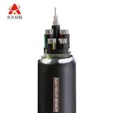 ACWU90 铝合金自锁铠装电缆4X120+1X70平方 -ACWU90--4X120+1X70平方