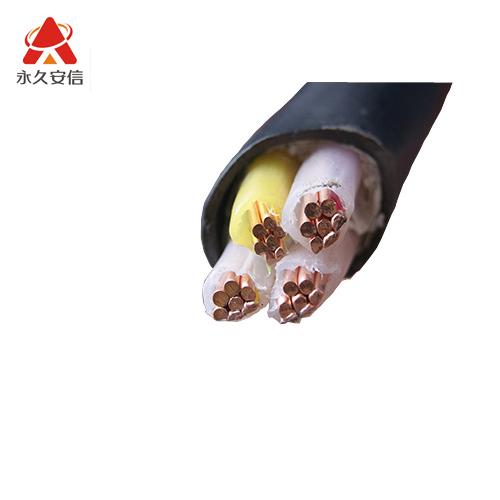 铜电缆 四芯交联电缆YJV 3*25+1*16平方-4芯铜电缆YJV3x25+1x16