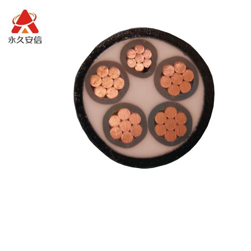 铜电缆 五芯交联电缆YJV 4*25+1*16平方-YJV4x25+1x16平方