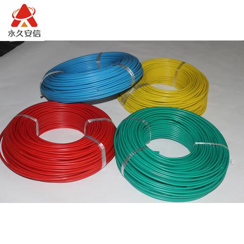 电线 铜电线 塑铜线 单芯铜线 铜芯线BV6平方-电线BV6平方