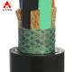 橡套电缆 四芯重型橡套耐油软电缆YCW3x10+1x6平方-4芯橡套软电缆YCW3x10+1x6