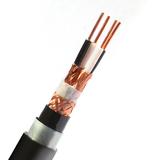 铜芯聚乙烯绝缘聚氯乙烯护套铜丝编织分屏蔽电子计算机电缆DJYPVP22--2X2X1.5 -DCS系统用电缆