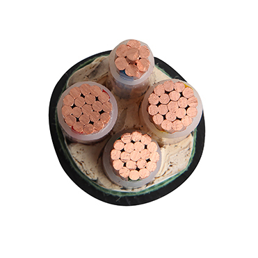 铜电缆 4芯耐火交联电力电缆NH-YJV-3X95+1X50平方-4芯铜电缆NH-YJV-3X95+1X50