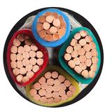 铜电缆 4芯铜芯电力电缆VV-3X120+1X70 平方 -4芯铜电缆VV-3X120+1X70平方