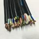 国标4芯RVV综合电源线 0.5平方KVVR控制电缆 软护套线-RVV KVVR 4×0.5