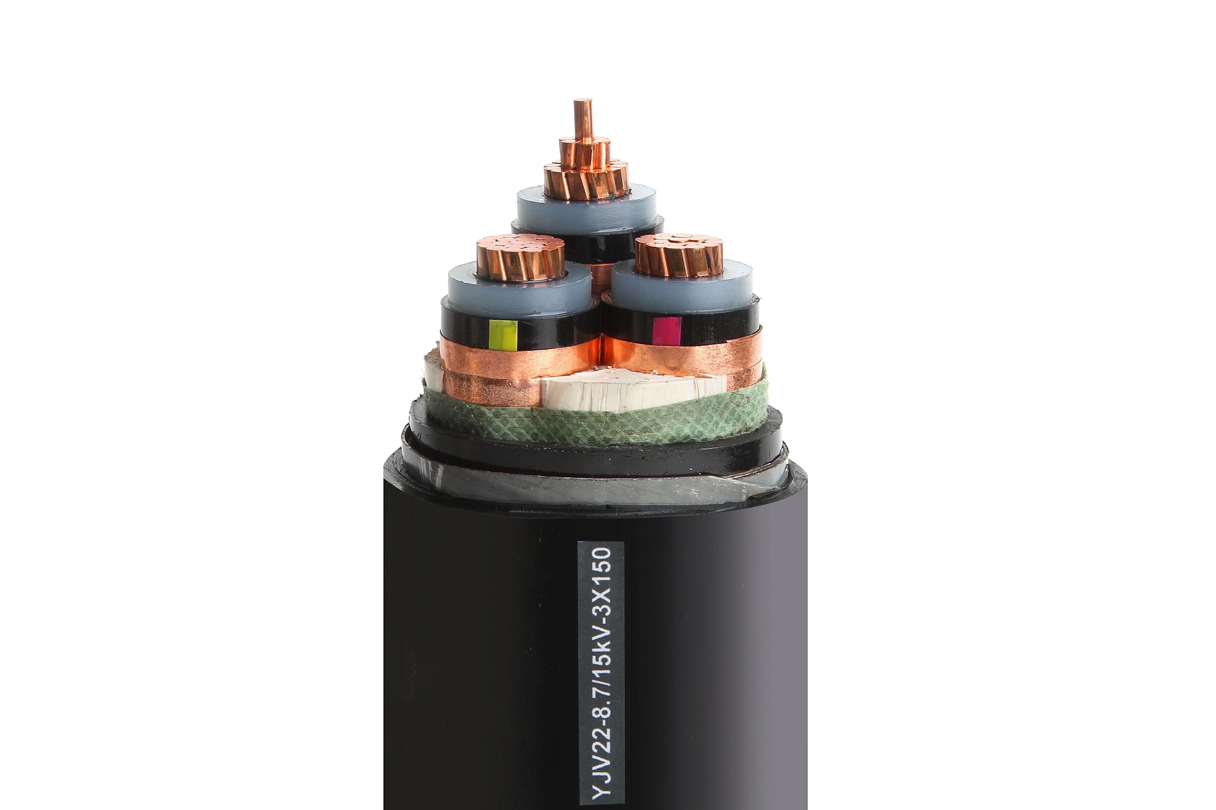 高压铜电缆,看看富阳的客户怎么选择的【杭州安信】