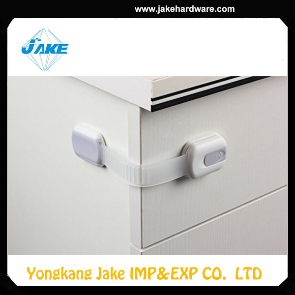 Adjustable baby safety cabinet drawer lock JKF13359