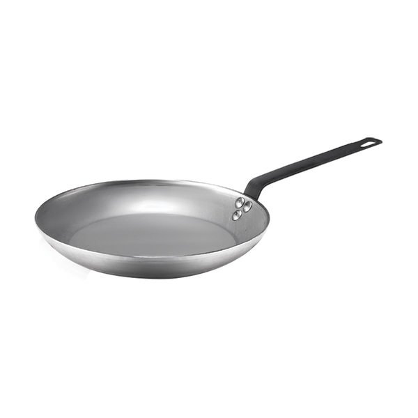 White Steel Fry Pan WY-WF