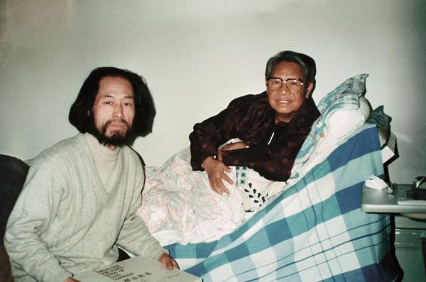 探访病中的新中国美术界元老罗工柳先生