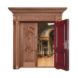 爱丽舍宫铜艺对开门